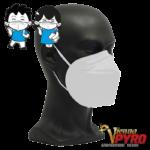 CE zertifizierte Atemschutzmaske FFP2 für Kinder Weiss
