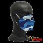 CE zertifizierte Atemschutzmaske FFP2 camouflage blau